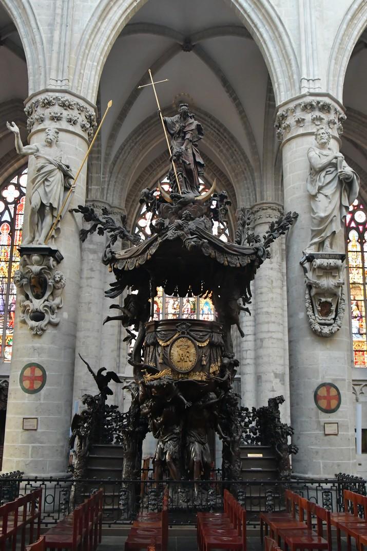 Púlpit de la Catedral de Brussel·les
