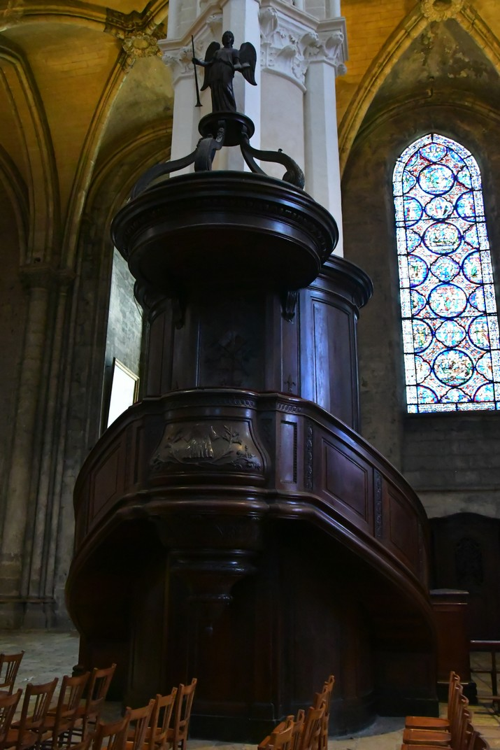 Púlpit de la Catedral de Chartres