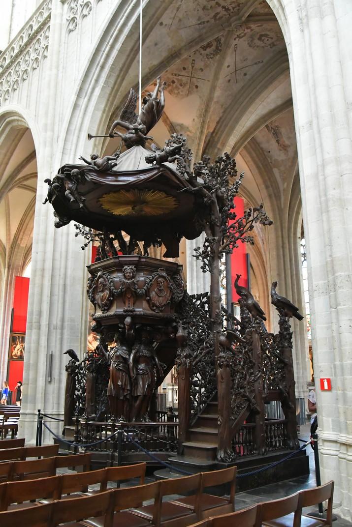 Púlpit de la Catedral de Nostra Senyora d'Anvers