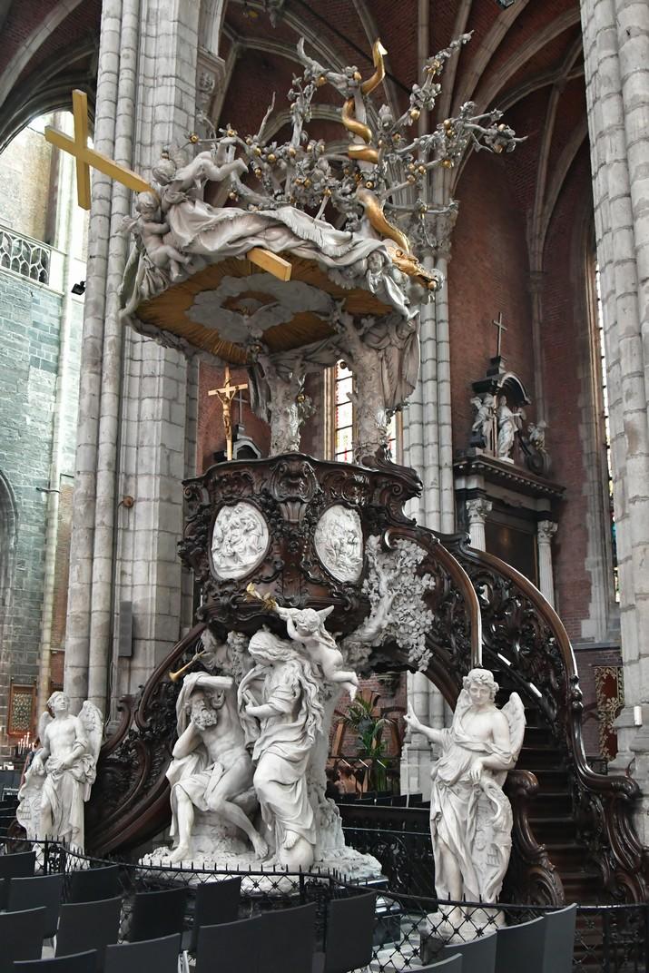 Púlpit de la Catedral de Sant Bavó de Gant