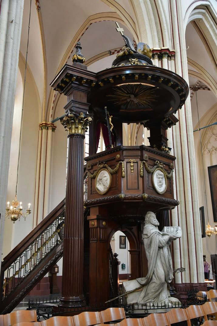 Púlpit de la Catedral de Sant Salvador de Bruges