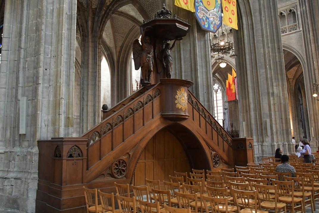 Púlpit de la Catedral d'Orleans
