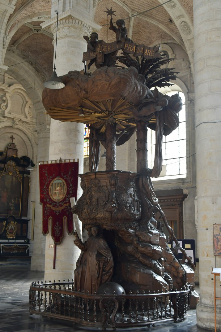 Púlpit de l'església de Joan Baptista del Beateri de Brussel·les