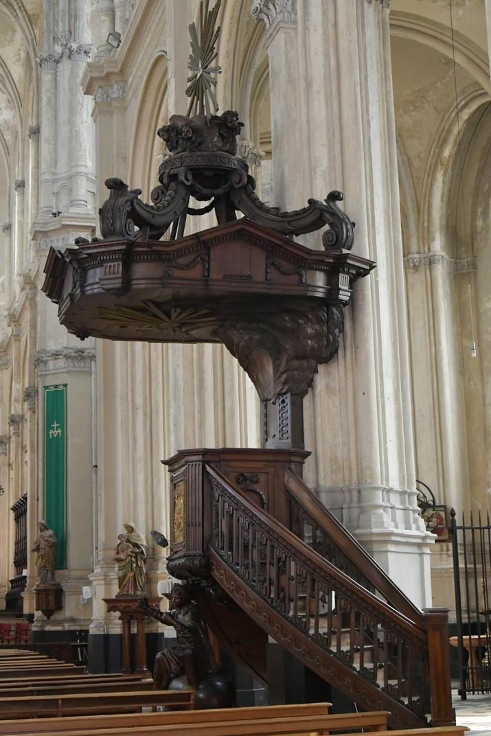 Púlpit de l'església de Santa Caterina de Brussel·les