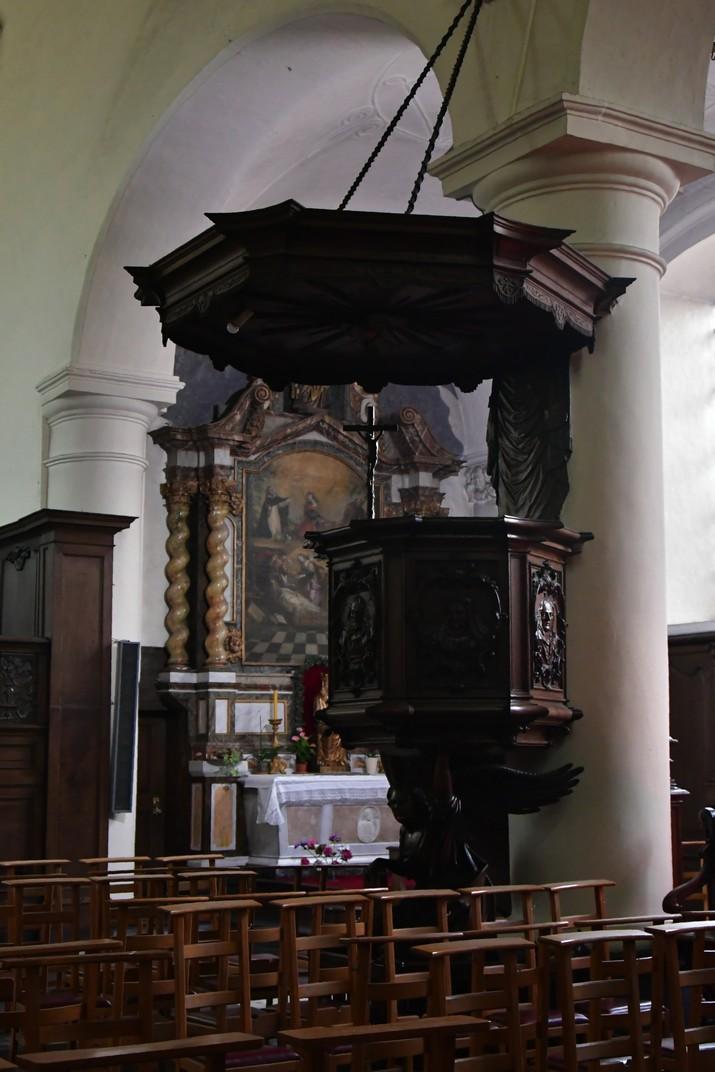 Púlpit de l'església de Santa Isabel del Beateri de Bruges