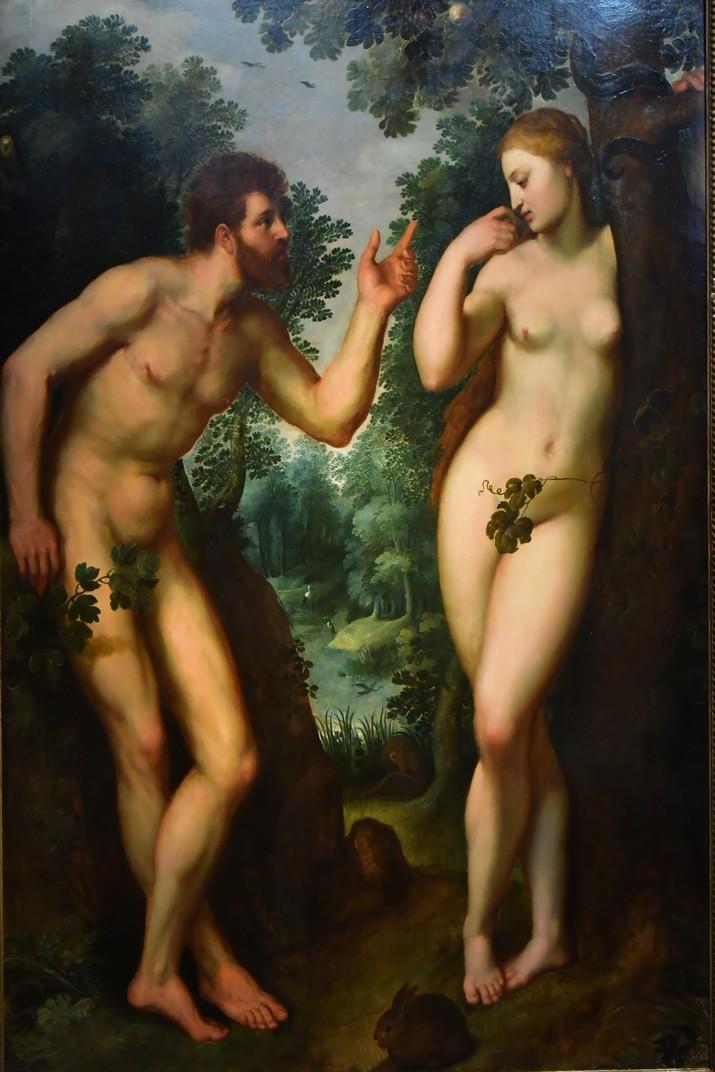 Quadre d'Adam i Eva de la Casa de Rubens d'Anvers