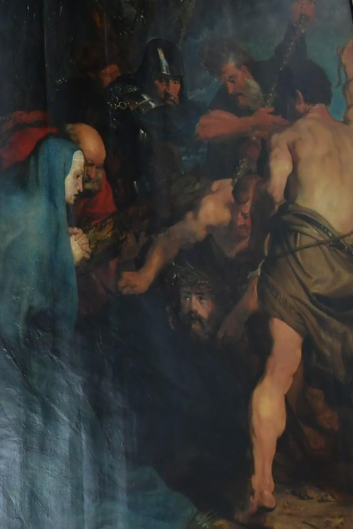Quadre de la caiguda de la Creu d'Antoon van Dyck de l'església de Sant Pau d'Anvers