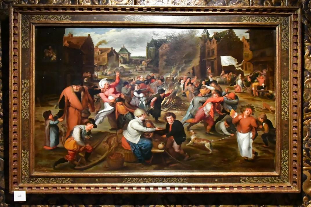 Quadre de la Casa de Rubens d'Anvers