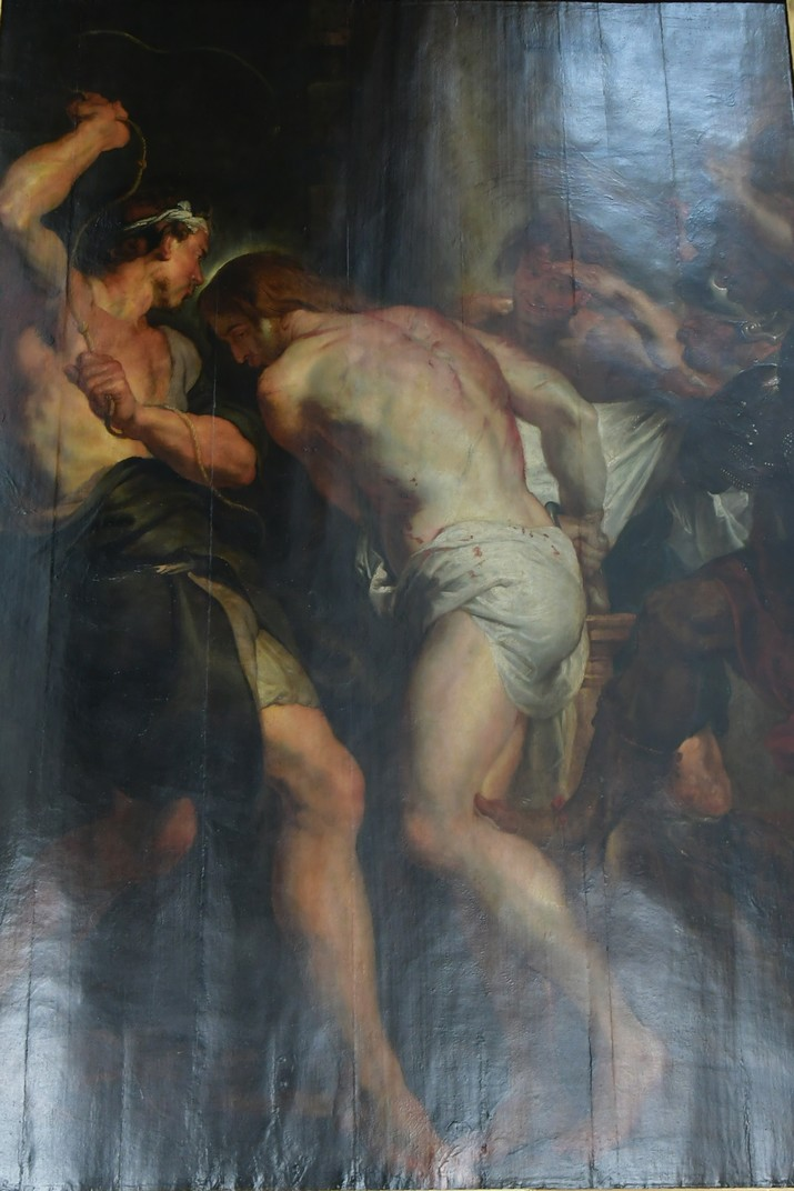 Quadre de la flagel·lació de Rubens de l'església de Sant Pau d'Anvers