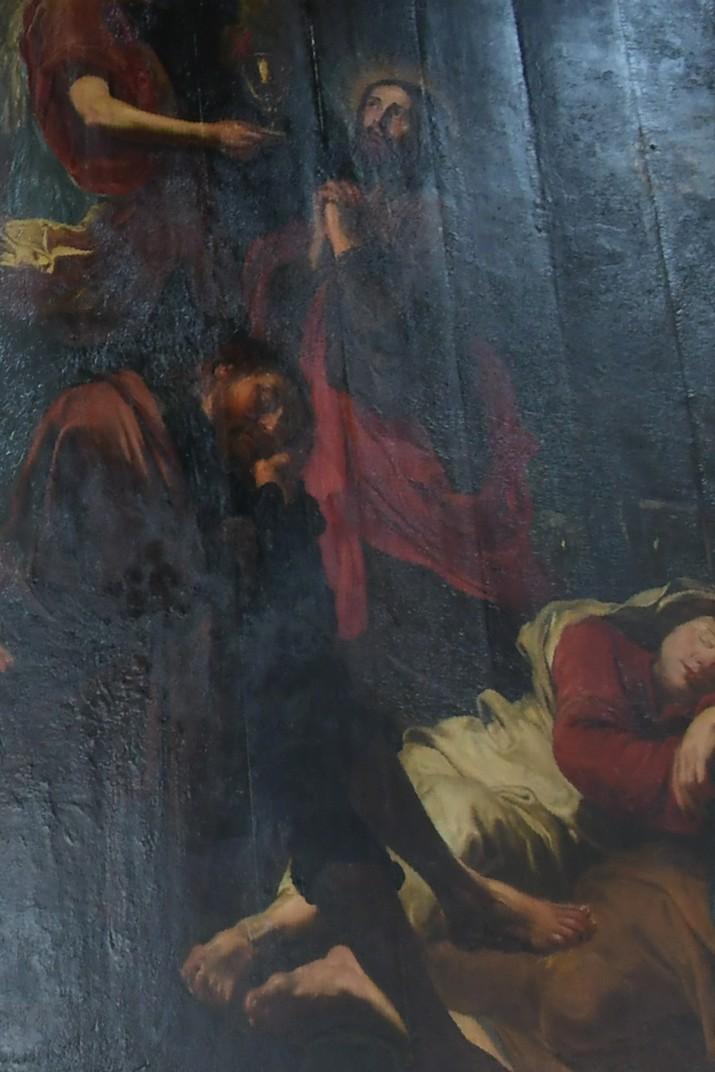 Quadre de la mort de Jesús de David Teniers de l'església de Sant Pau d'Anvers