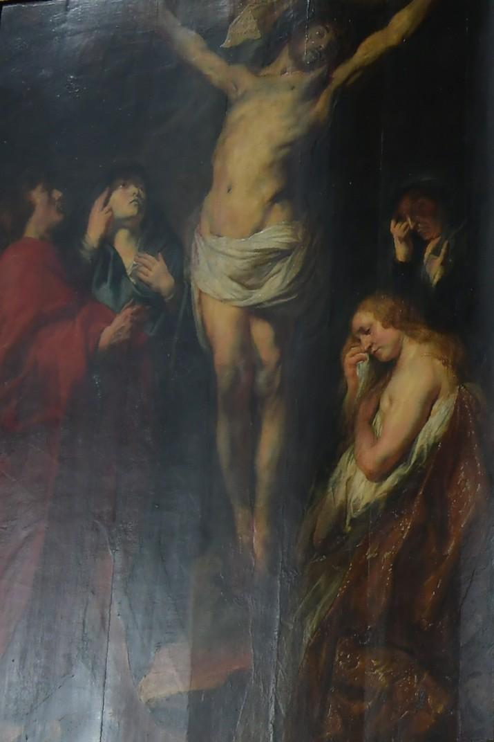 Quadre de la mort en la Creu de Jacob Jordaens de l'església de Sant Pau d'Anvers