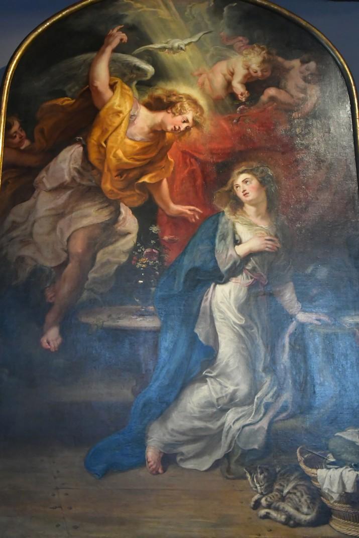 Quadre de l'Anunciació de la Casa de Rubens d'Anvers