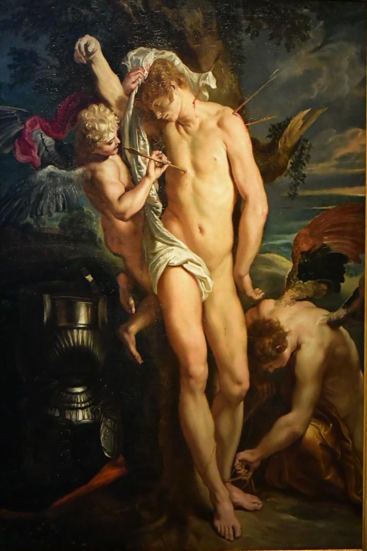 Quadre de Sant Sebastià de la Casa de Rubens d'Anvers