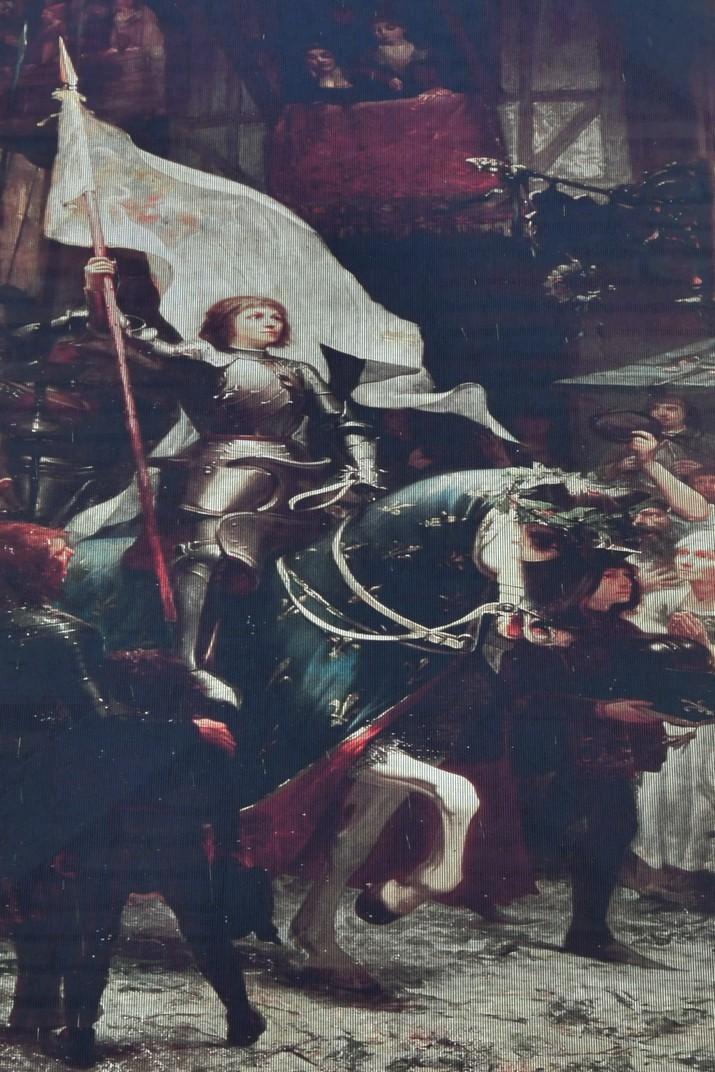 Quadre Entrada Triomfal de Joana d'Arc d'Orleans