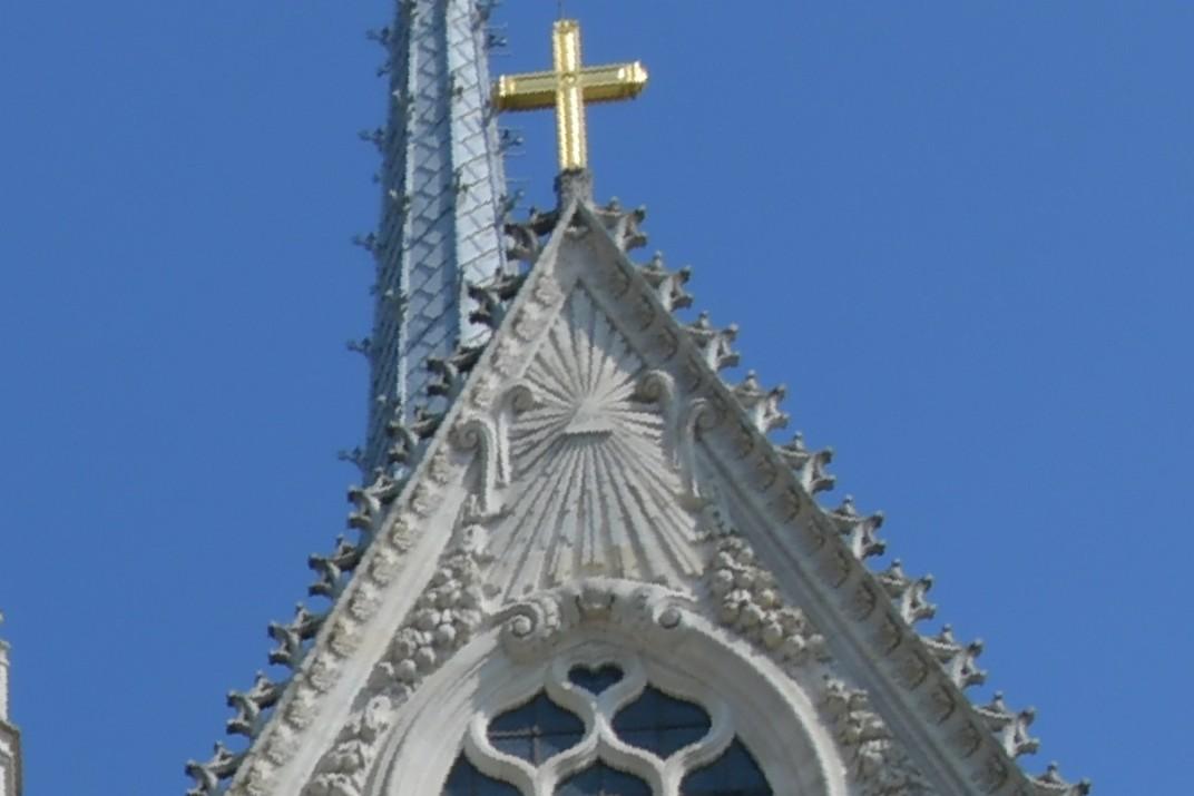 Rajos del transsepte de la Catedral d'Orleans