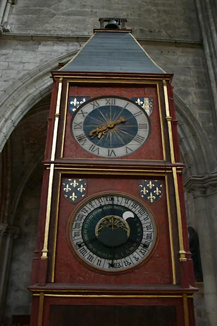 Rellotge astronòmic de la Catedral de Bourges