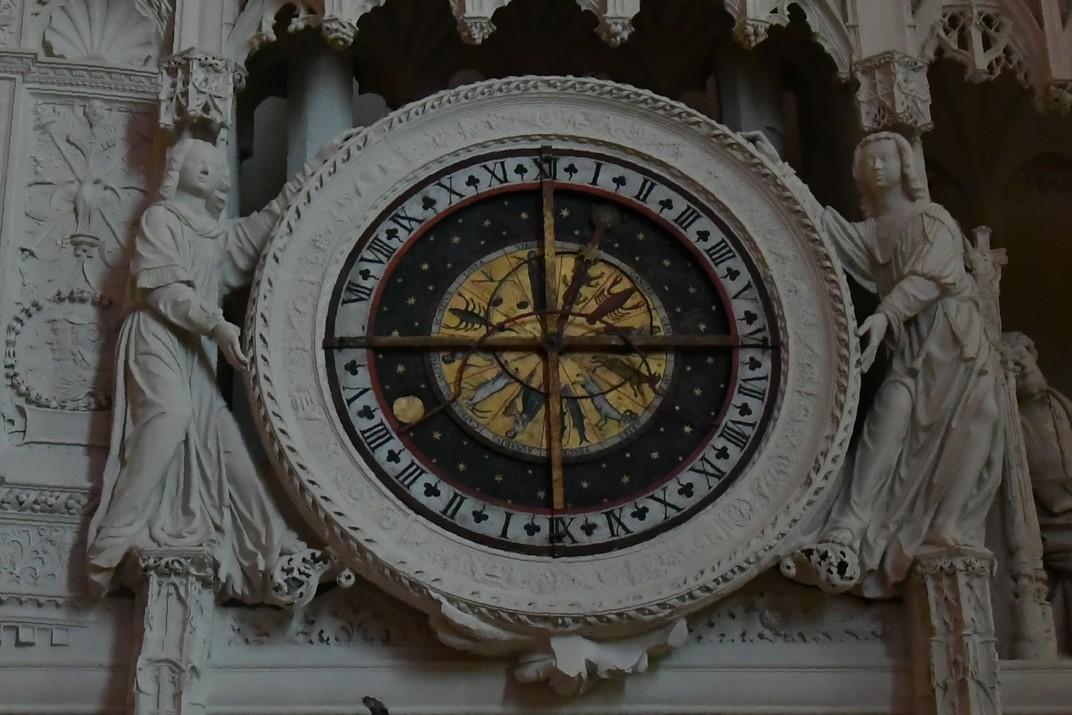 Rellotge astronòmic del Cor de la Catedral de Chartres