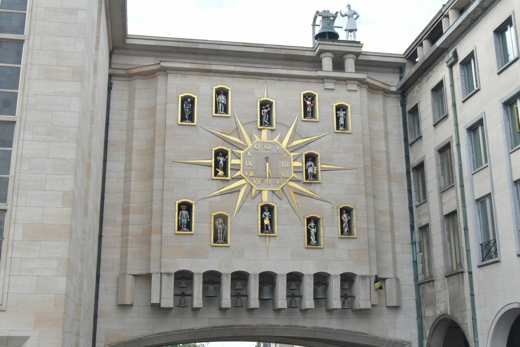 Rellotge de Carilló del Mont de les Arts de Brussel·les