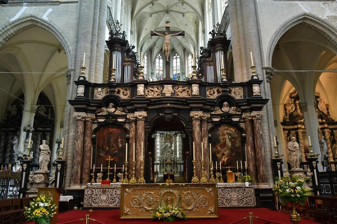 Rerecor de l'església de Sant Jaume d'Anvers