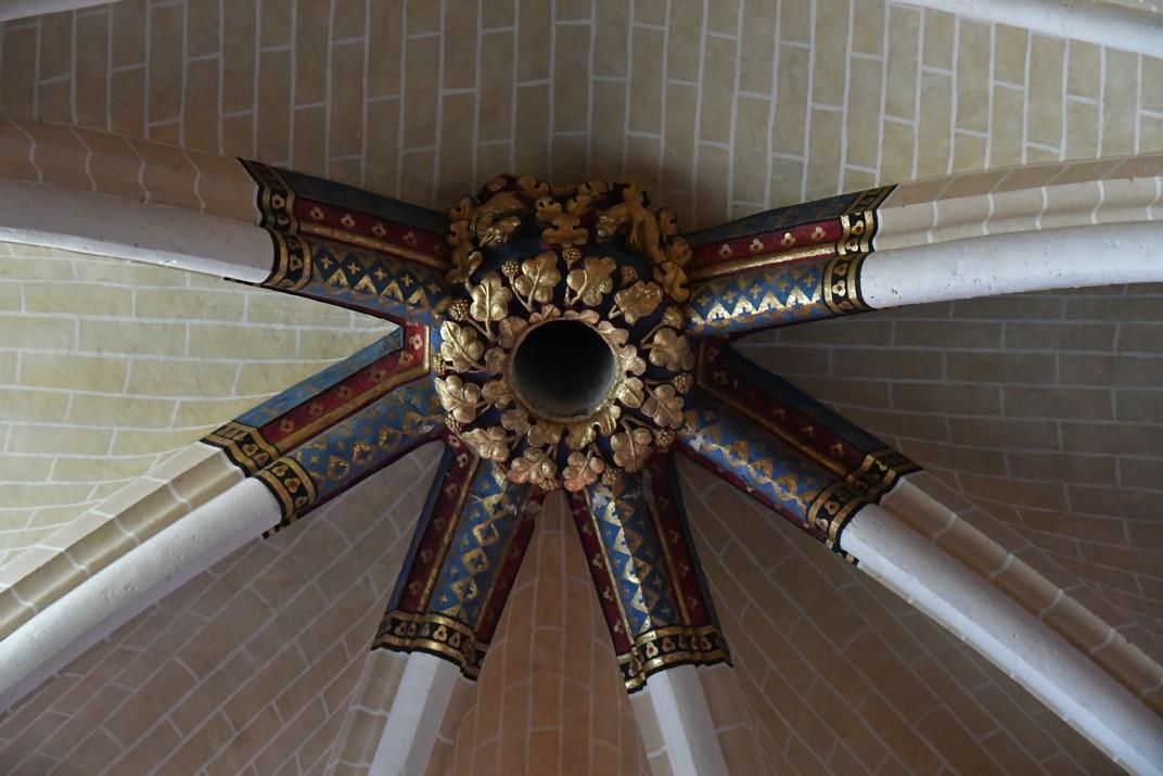 Restauració de claus de volta de la Catedral de Chartres