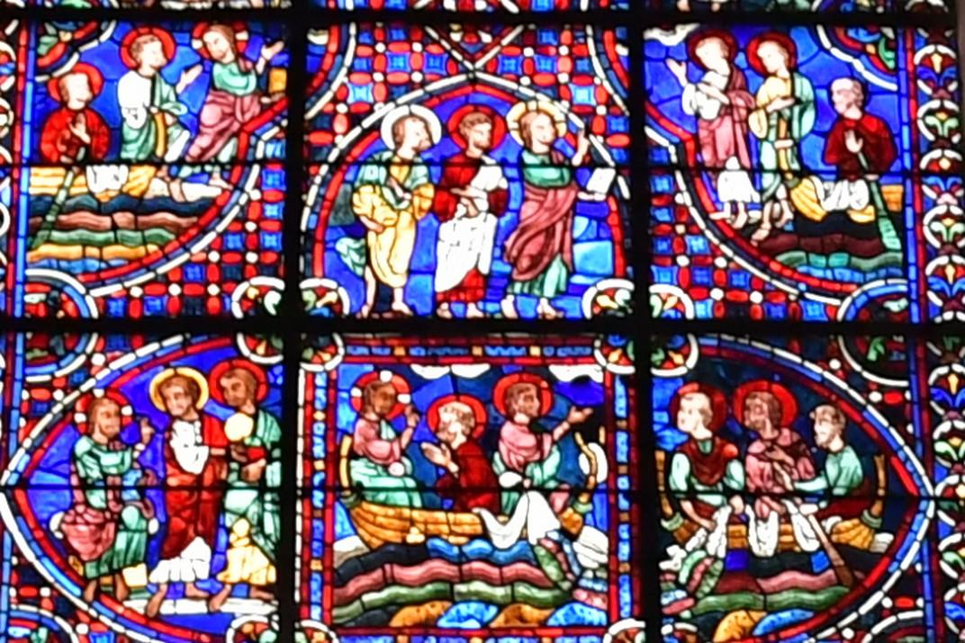 Restauració de vitralls de la Catedral de Chartres