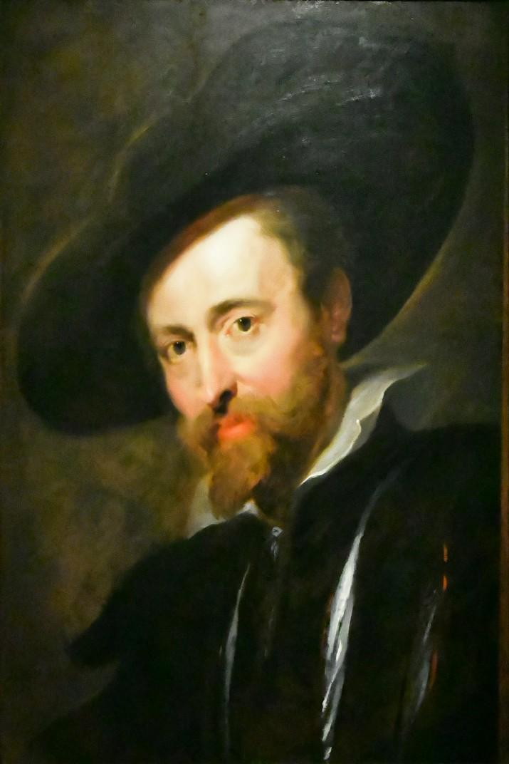 Retrat de Rubens de la Casa de Rubens d'Anvers