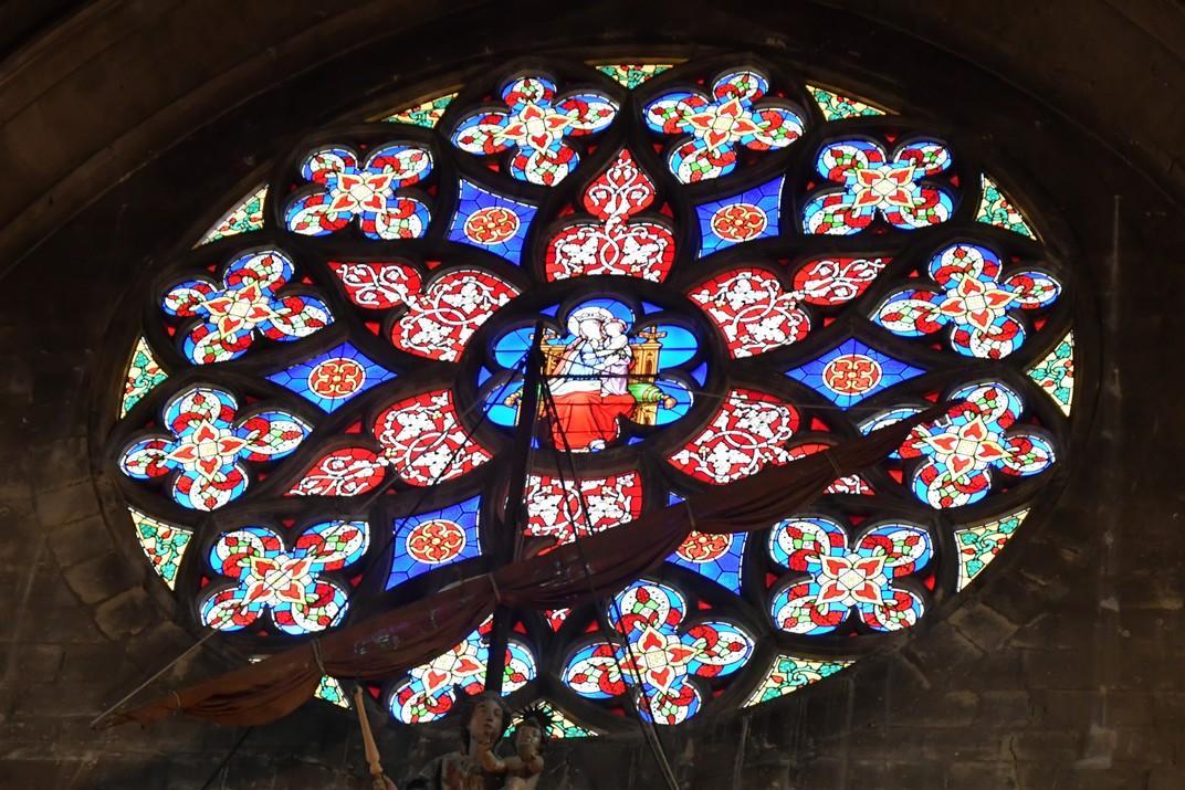 Rossasa de l'església de Nostra Senyora de les Victòries del Sablon de Brussel·les
