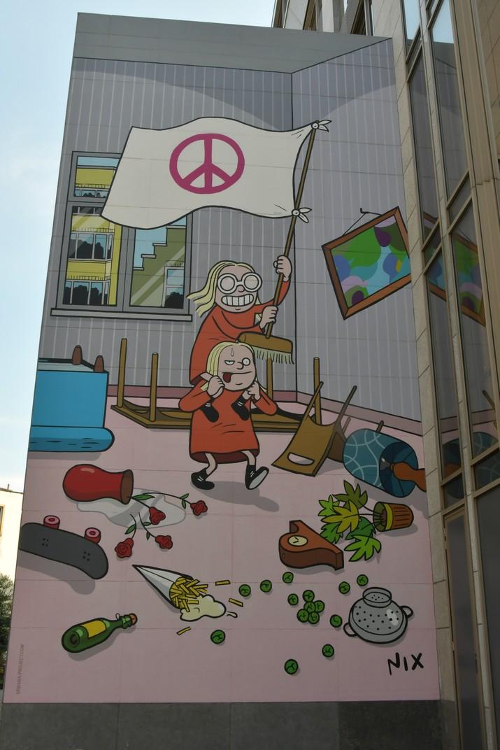 Ruta del Còmic de Brussel·les