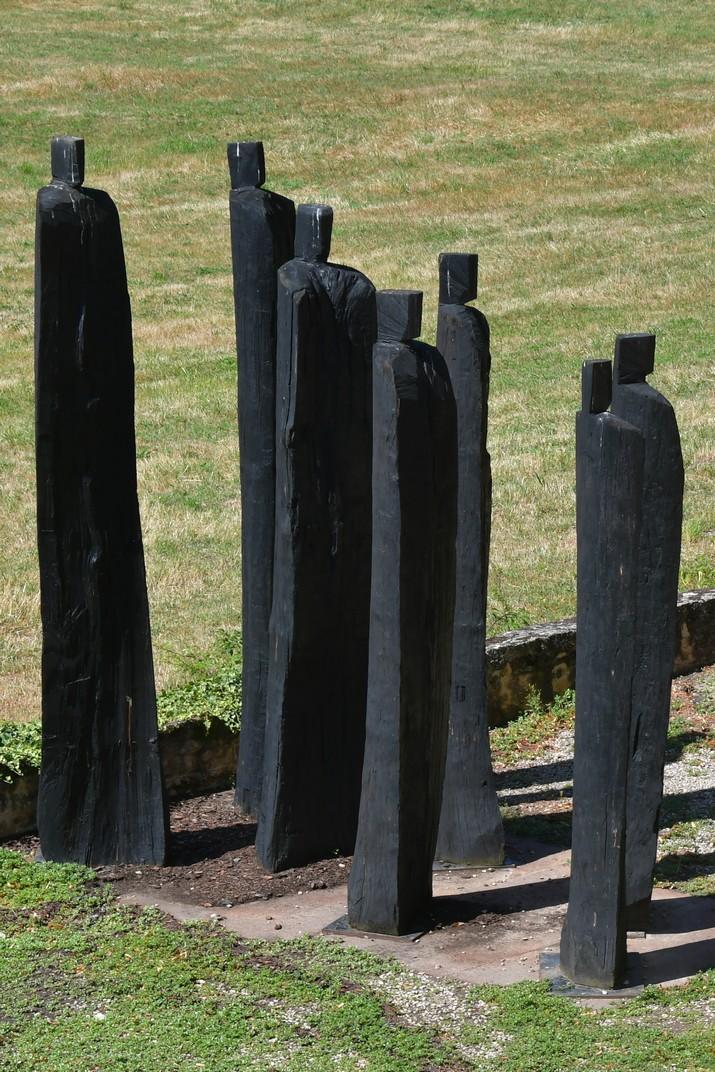 Set estàtues de Noirlac