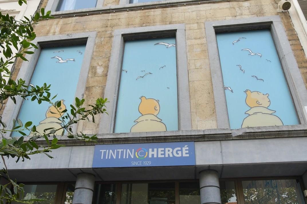 Tintin - Hergé - Brussel·les