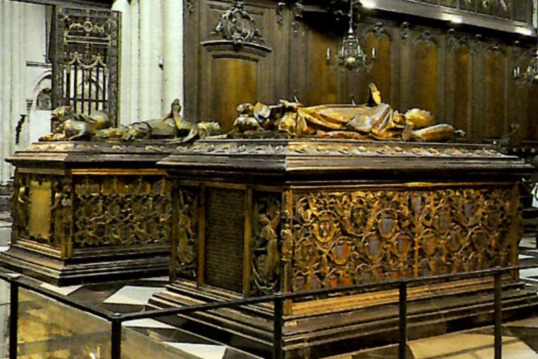 Tomba de Maria de Borgonya de l'església de Nostra Senyora de Bruges