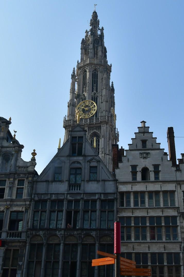 Torre de la Catedral de Nostra Senyora d'Anvers