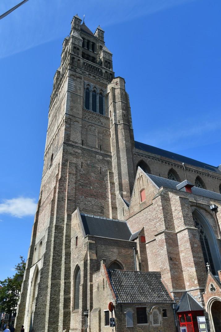 Torre de la Catedral de Sant Salvador de Bruges