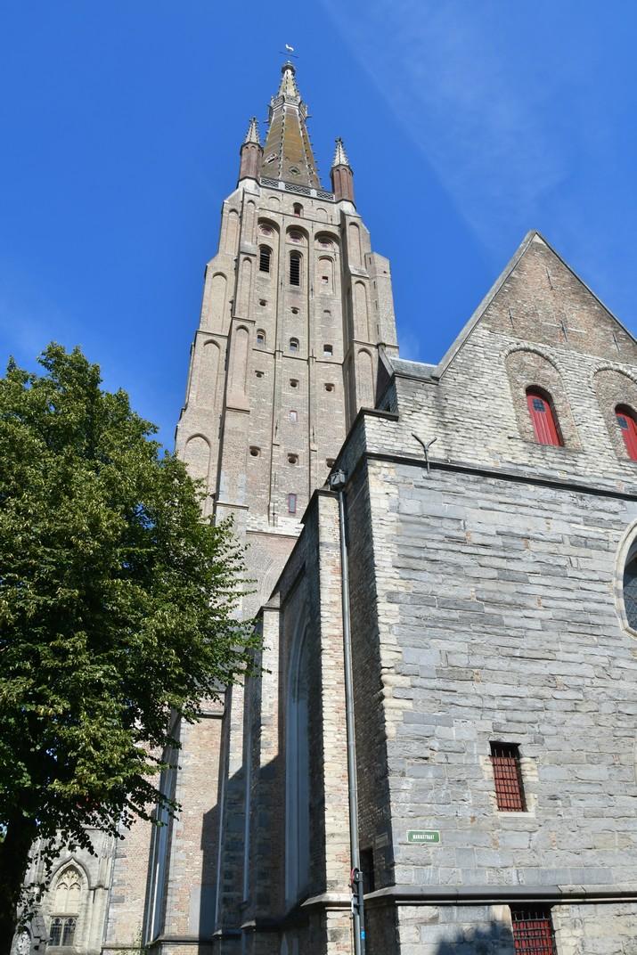 Torre de l'església de Nostra Senyora de Bruges