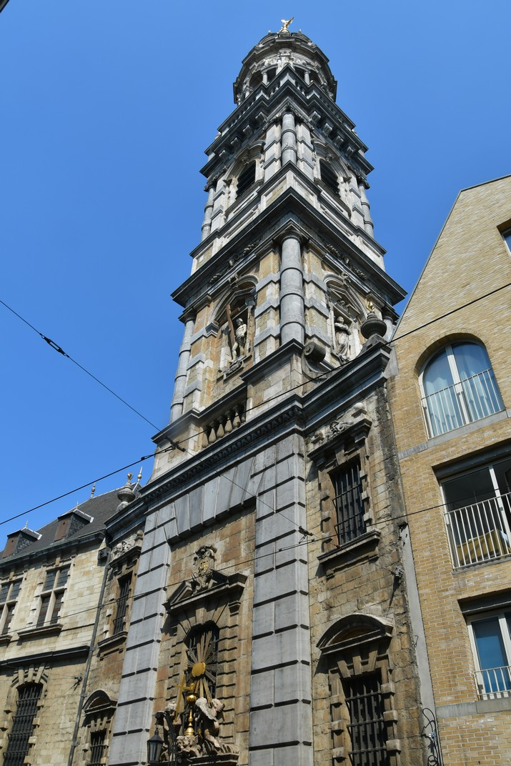 Torre de l'església de Sant Carles Borromeo d'Anvers