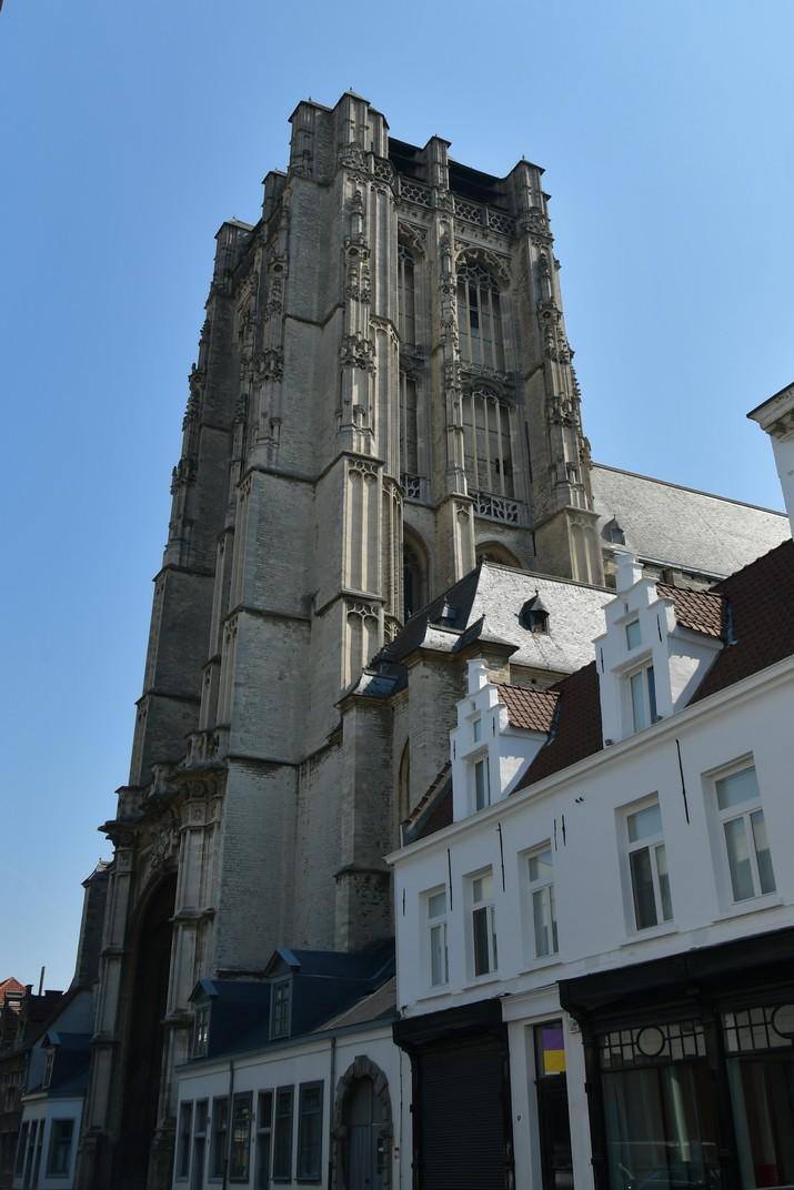 Torre de l'església de Sant Jaume d'Anvers