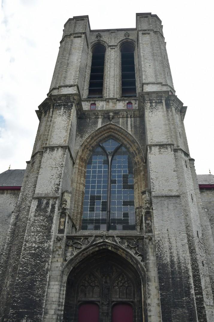 Torre de l'església de Sant Miquel de Gant