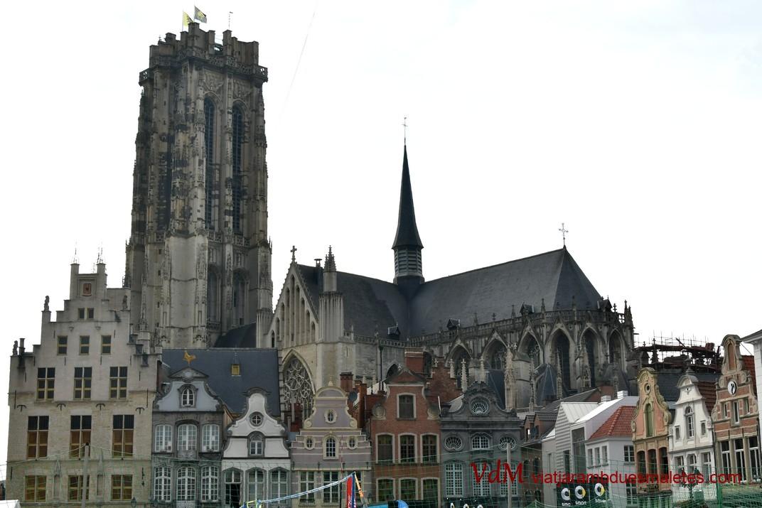 Torre i Catedral de Sant Rumold de Malines