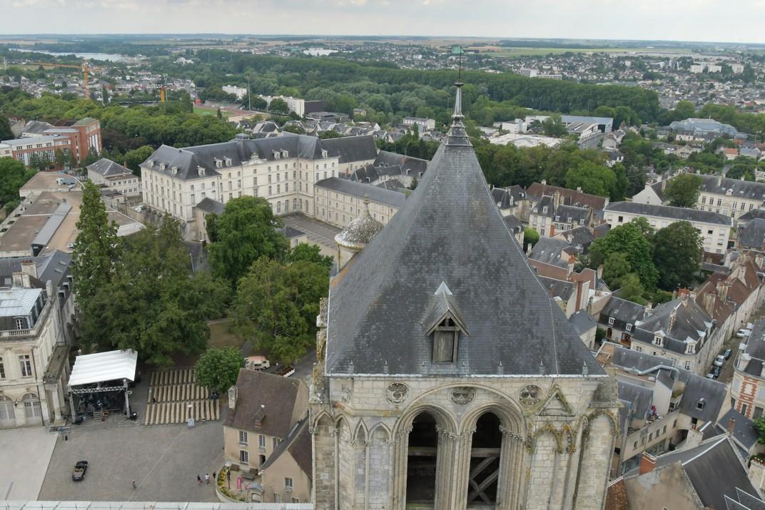 Torre sud de la Catedral de Bourges