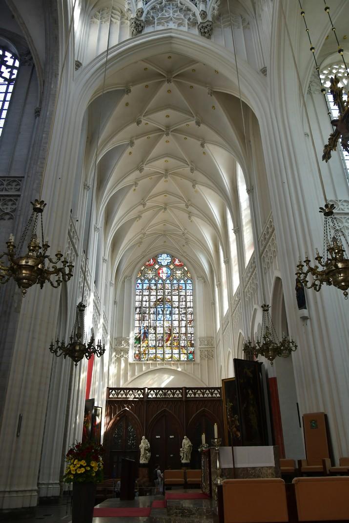 Transsepte de la Catedral de Nostra Senyora d'Anvers