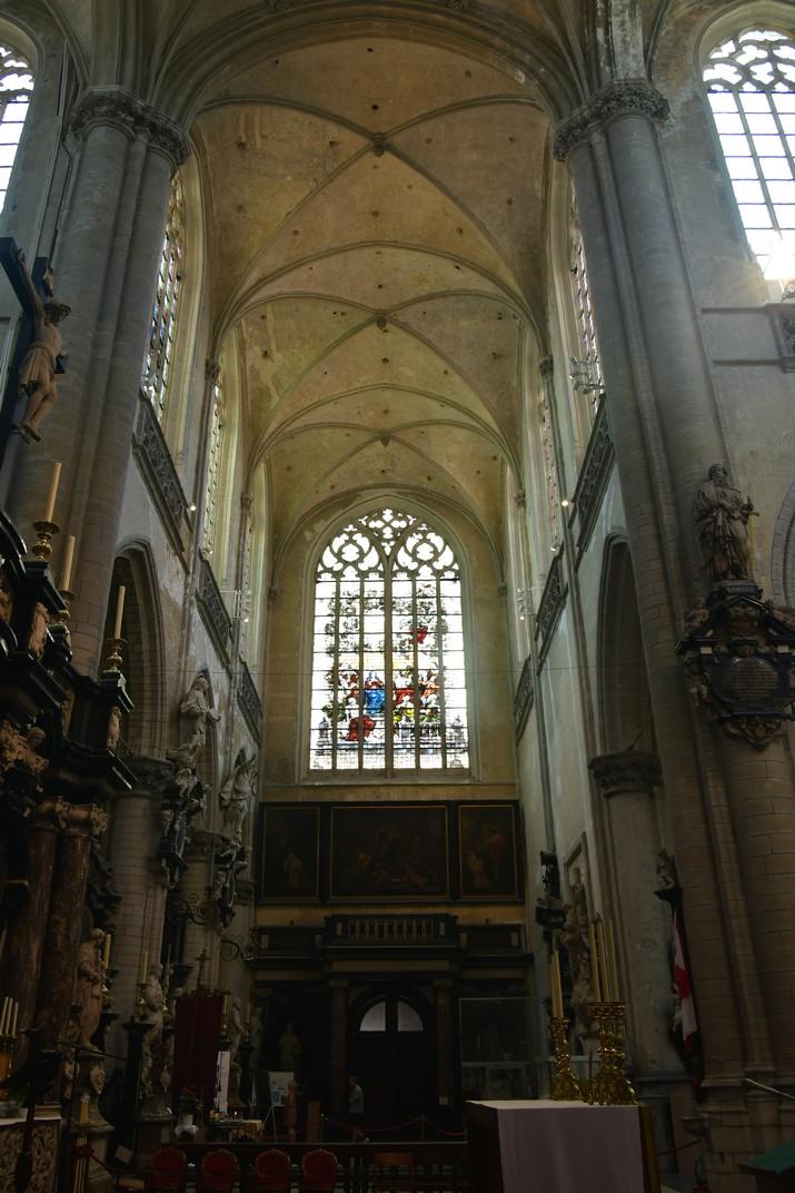 Transsepte de l'església de Sant Jaume d'Anvers