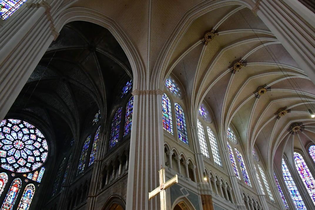 Transsepte nord de la Catedral de Chartres