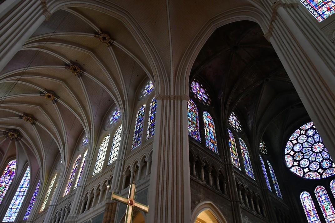 Transsepte sud de la Catedral de Chartres