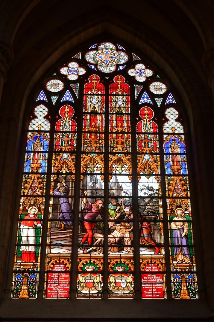 Vidrieres de la Catedral de Brussel·les