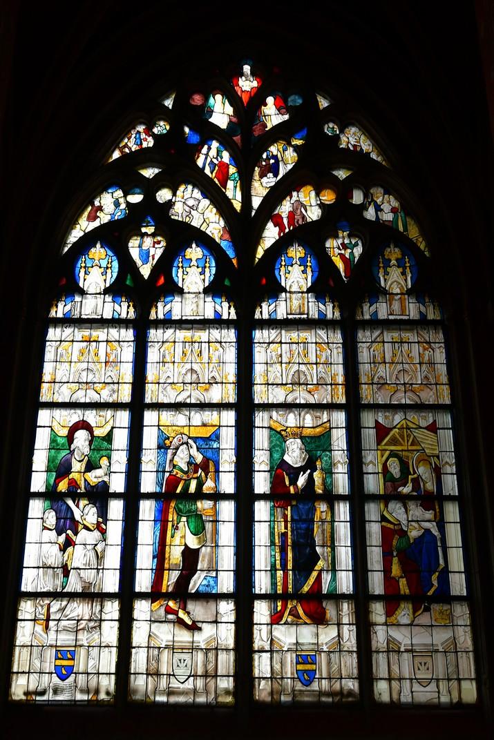 Vitrall de la capella Dubreuil de la Catedral de Bourges