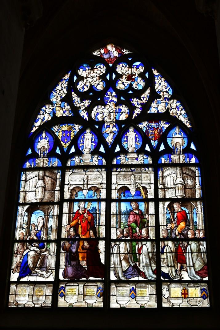 Vitrall de la capella Tullier de la Catedral de Bourges