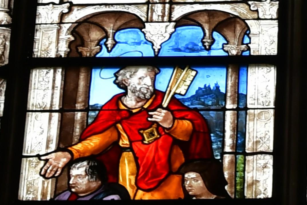 Vitrall de sant Pere de la Catedral de Bourges