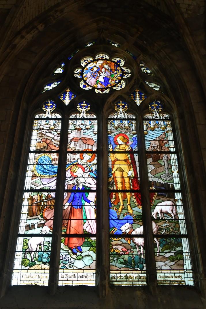 Vitralls de Joana d'Arc de la Catedral d'Orleans
