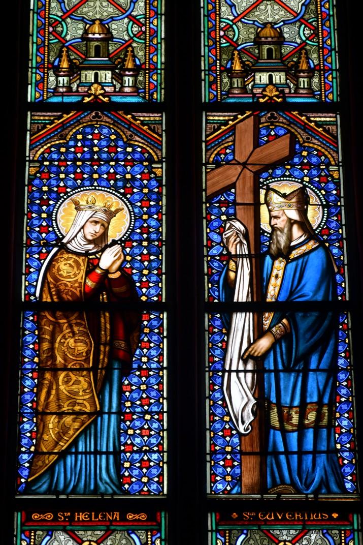 Vitralls de la Capella de Santa Helena de la Catedral d'Orleans