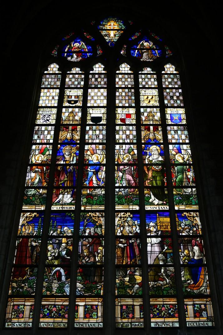 Vitralls de la Catedral de Sant Bavó de Gant